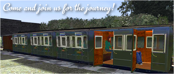 Glyn Valley Tramway at Chirk visualisation by Vic Jones